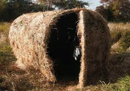 Bow Hunting From A Ground Blind The Urban Sportsman Great Diy Ground Blind Idea Deer Hunting
