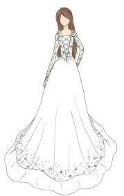 design a wedding dress wedding dress design by kiknessa on deviantart