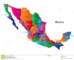 Mexico Map by Mexico Map Royalty Free Stock Image Image 6400406