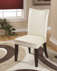 ivory chair charrell ivory dining uph side chair set of 2 d357 02 side