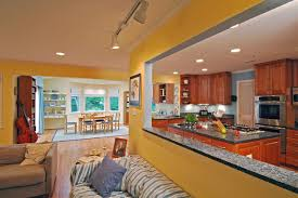 Paint Ideas For Living Room And Kitchen How To Use Color With An Open Floor Plan