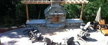 Outdoor Concrete Patio Outdoor Concrete Fireplace Concrete Concrete Patio Concrete