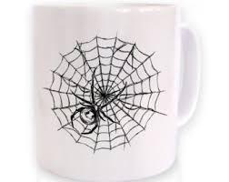 spider mug etsy