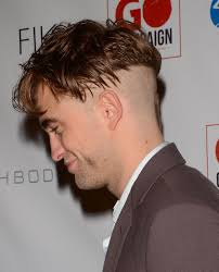 robert pattinson debuts a new undercut haircut with a soul patch