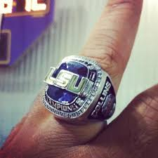 keepsake bowling rings photo lsu sec chionship ring reminds players they were 2