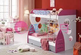 Bunk Beds Pink How Sweet Pink Bunk Beds For Bedroom Design Ideas