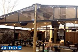 Second Hand Awnings For Sale In Ireland Awnings Ireland Awnings Canopies Blinds And Beer Garden Roofs