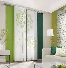 Sliding Panel Curtains Dandelion Allover 1 Curtain Panel Room Divider Panel Blinds
