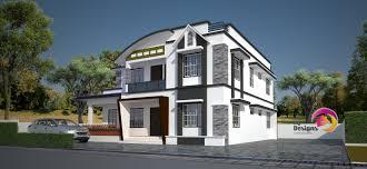 2567 sqft modern contemporary style home design
