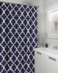 Geometric Pattern Curtains Geometric Patterned Shower Curtain 70 Inch By 72 Inch
