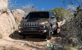 hunting jeep cherokee fourtitude com 2014 nissan rogue or 2014 jeep cherokee trailhawk