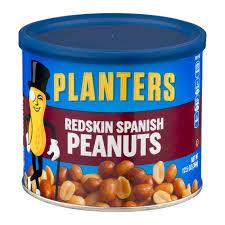 planters peanuts redskin spanish 12 5 oz walmart com