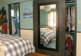 Small Closet Door Barn Door With Mirror Contractors Wardrobe Mirrored Closet Doors