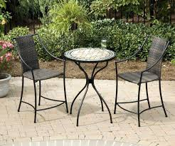 Large Bistro Table And Chairs Outdoor Bistro Table Outdoor Pub Table Set Maddie Andellies House