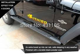 jeep wrangler side steps for sale aliexpress com buy stainless steel running board side for
