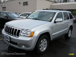 silver jeep liberty 2008 2008 jeep grand cherokee limited 4x4 in bright silver metallic