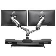 dual monitor stand up desk varidesk is a great stand up desk option mississippi litigation