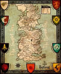 Map Of Kings Landing B C As Game Of Thrones U0027 Kingdoms Of Westeros Vancouver Is King U0027s