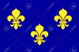 Paris Flag Flag Of Ile De France Also Known As The Region Parisienne Is One