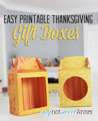 thanksgiving gift boxes sweet designs