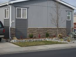 decorating ideas for manufactured homes mobile home siding ideas