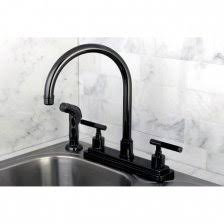 overstock kitchen faucet high arch two tone chrome nickel kitchen faucet with sprayer