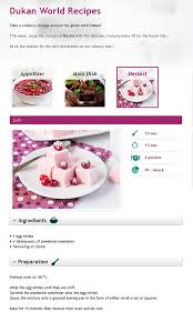 dukan diet meringues zefir attack phase ingredients 3 egg