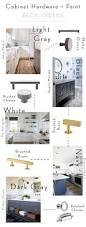 kitchen hardware the right hardware finish for your cabinet color