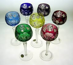Crystal Gifts Stemware Vases Rare Colors European We Have Made Two Of Your Favorite Ajka Crystal Glasses Available