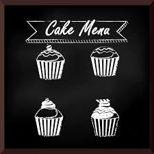 cake menu design vector image 1705903 stockunlimited