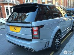 matte blue range rover land rover mansory range rover autobiography lwb 2013 18