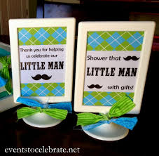 Mustache Home Decor Little Man Mustache Baby Shower Party Decor Decorating Of Party