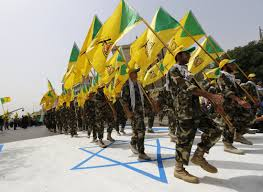 Hezbollah Flag Iran Backed Iraqi Militias Are Pouring Into Syria Business Insider
