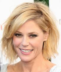 modern family hairstyles more pics of julie bowen messy cut 6 of 10 short hairstyles