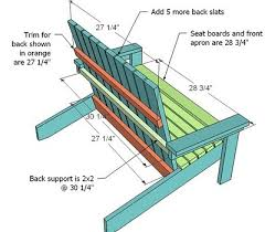 Plans For Building A Wood Bench by Ana White How To Build A Super Easy Little Adirondack Chair