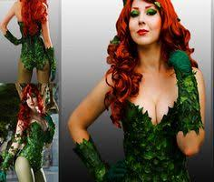 Poison Ivy Halloween Costume Poison Ivy Corset Halloween Costume Sz Small 34 Bust Mother