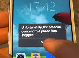 android phone stopped how to fix samsung galaxy s7 unfortunately the process