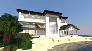 modern house minecraft simple modern architecture house minecraft how to build cool a