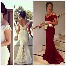 dh prom dresses vintage whie bridesmaid dresses sleeves brdal plus size