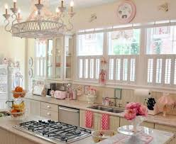 Pink Kitchen Blinds Design Your Kitchen With Vintage Pleasure