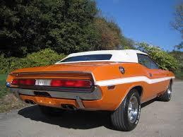 Dodge Challenger Convertible - 1970 dodge challenger convertible over 2 000 hour rotisserie