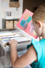 tips for organizing kids u0027 papers