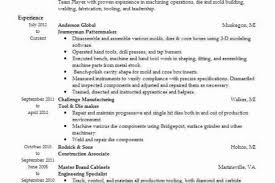 Tool And Die Maker Resume Personal Essay Writing Essay Writing Classes New York Sample
