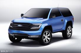 ranger ford 2017 4 things to know about the 2017 ford bronco when it returns