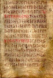 viking writing template runes