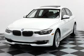 bmw series 3 white 2014 used bmw 3 series certified 328i xdrive luxury line awd