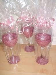 wine glass gift gift for bridesmaids just add goodies to the glass you