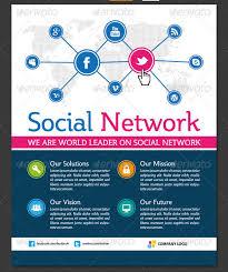 social media brochure template social media flyer 14 great social media flyer templates psd