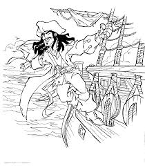 pirates of the caribbean coloring pages 4391