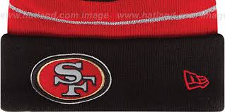 49ers thanksgiving day knit beanie hat by new era